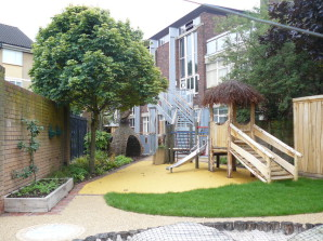 The new play area at Island House
